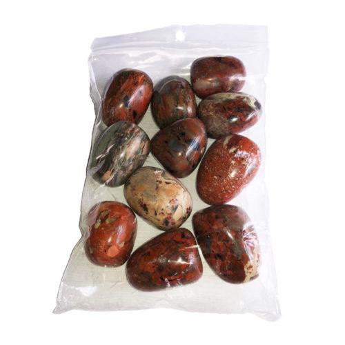 sachet pierres roulées jaspe bréchique 250grs