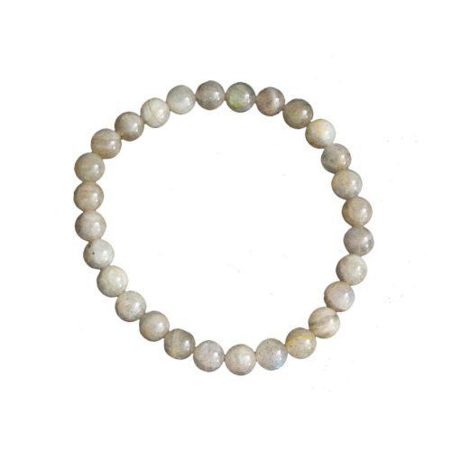 bracelet labradorite pierres boules 6mm