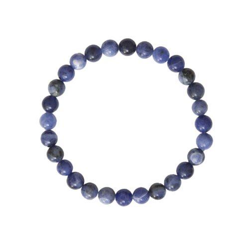 bracelet sodalite pierres boules 6mm