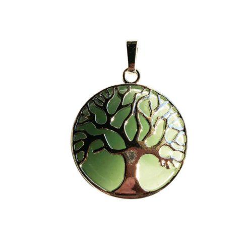 pendentif aventurine arbre de vie