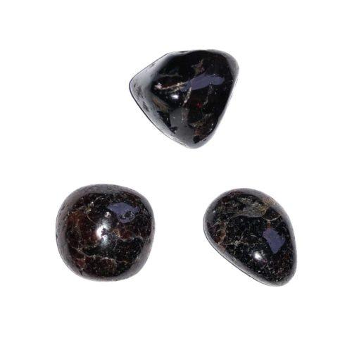 pierre roulée grenat