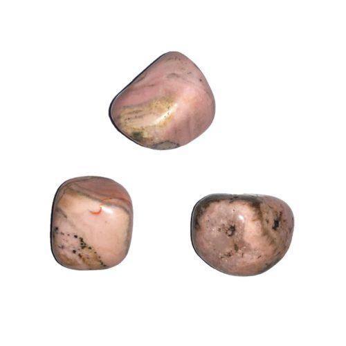 pierre roulée rhodocrosite