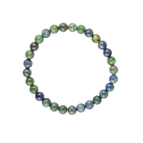 bracelet chrysocolle pierres boules 6mm