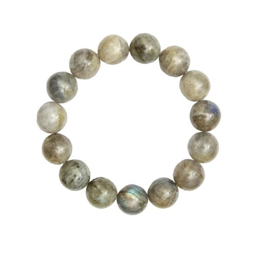 bracelet labradorite pierres boules 10mm