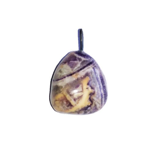 pendentif charoïte pierre roulée