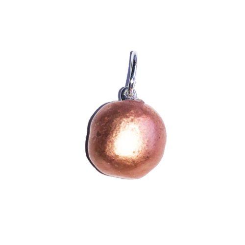pendentif cuivre pierre roulée