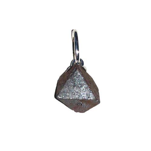 pendentif magnétite octaedre
