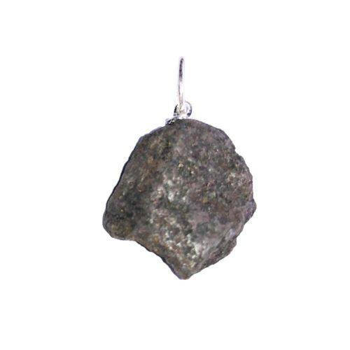 pendentif magnétite pierre brute