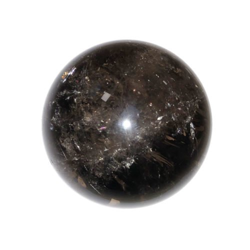 sphere quartz fumé