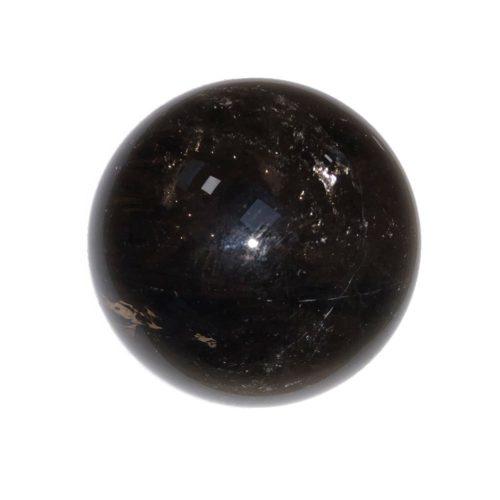 sphere quartz fumé