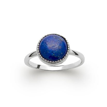 bague lapis-lazuli argent 925