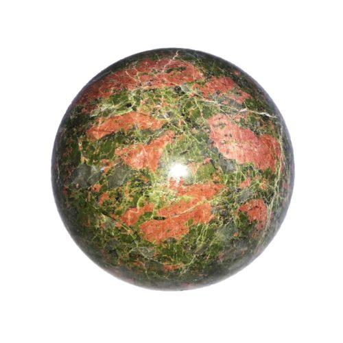 sphere unakite