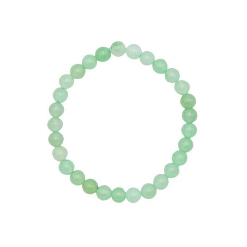 bracelet aventurine pierres boules 6mm