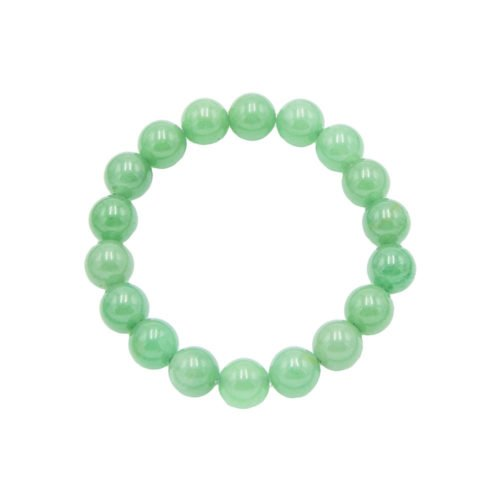 bracelet aventurine pierres boules 10mm