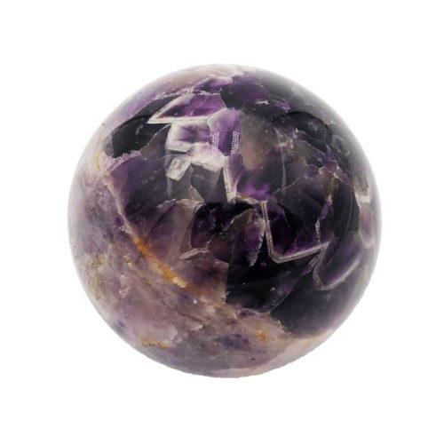 sphere améthyste chevron