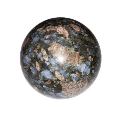 sphere opale rose et bleue