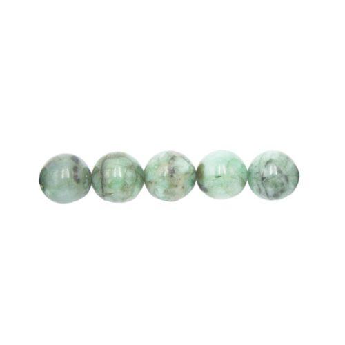 perle ronde émeraude 10mm