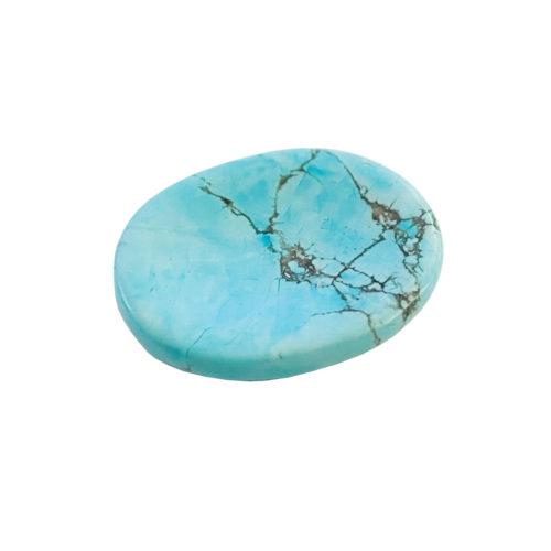 pierre pouces howlite bleue