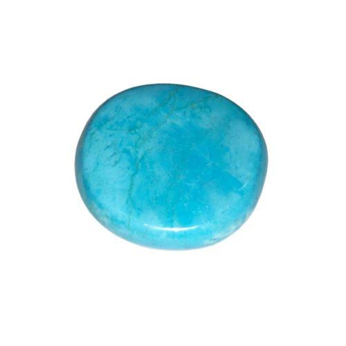 pierre pouce howlite bleue