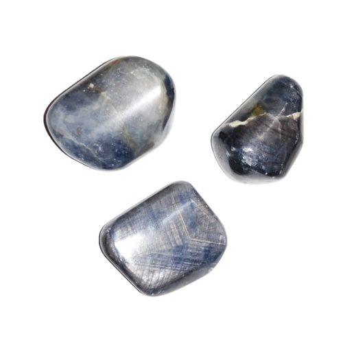 pierre roulée saphir