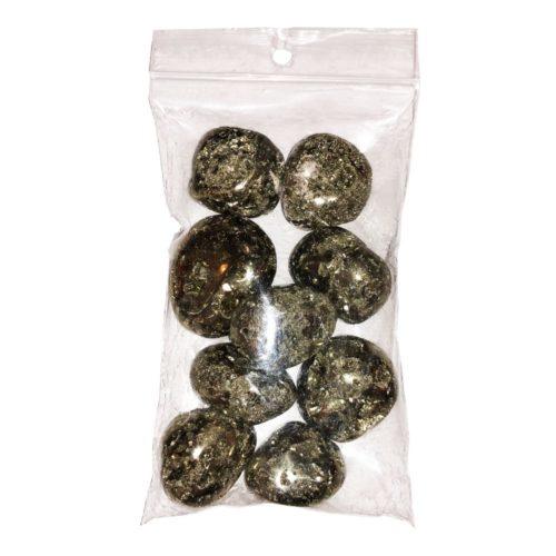 pierres roulées pyrite pérou