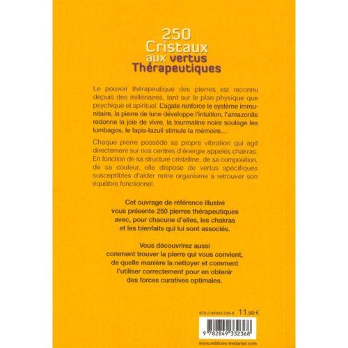 250 cristaux aux vertus thérapeutiques