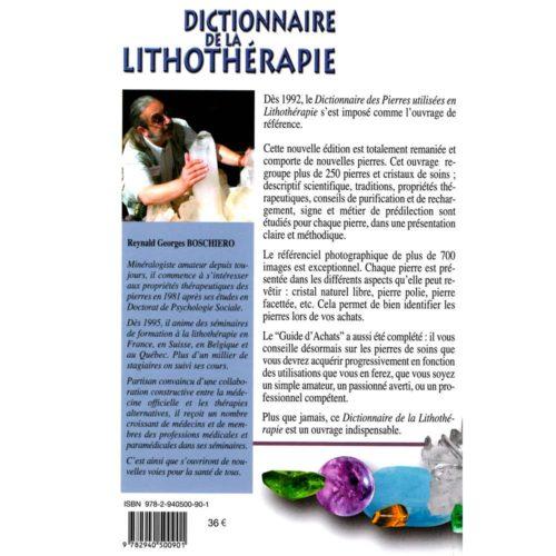 dictionnaire de la lithothérapie