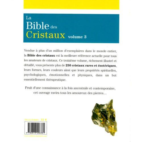 la bible des cristaux volume 3