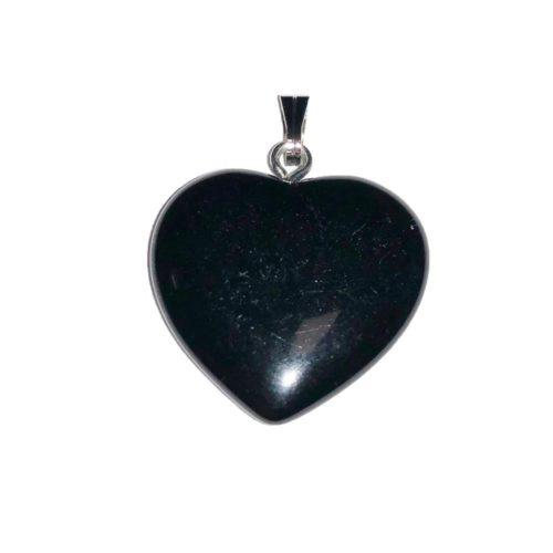pendentif onyx coeur
