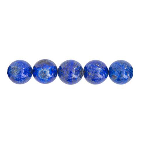 perle ronde lapis lazuli 8mm