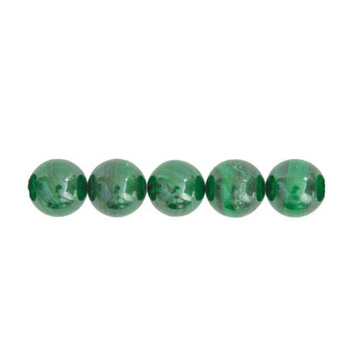 perle malachite 10mm