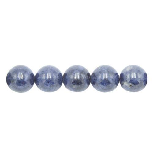 perle ronde saphir 10mm