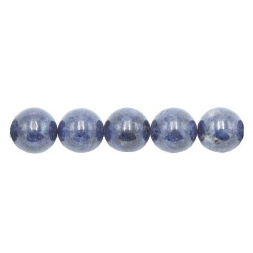 perle ronde saphir 12mm