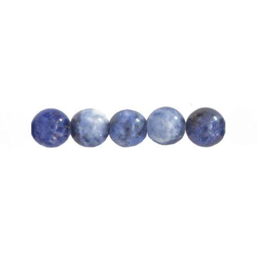 perles sodalite 12mm