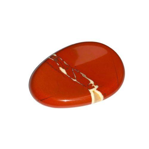 pierre pouce jaspe rouge