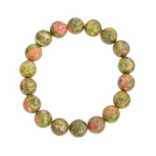 bracelet epidote 10mm