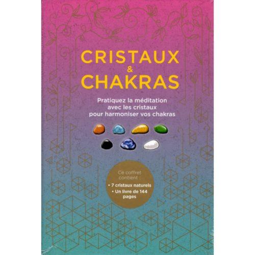 Cristaux et chakras (coffret)