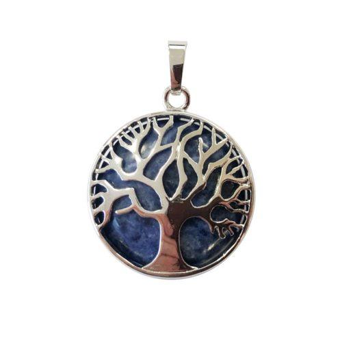pendentif sodalite arbre de vie