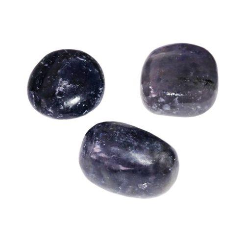 pierre roulée iolite