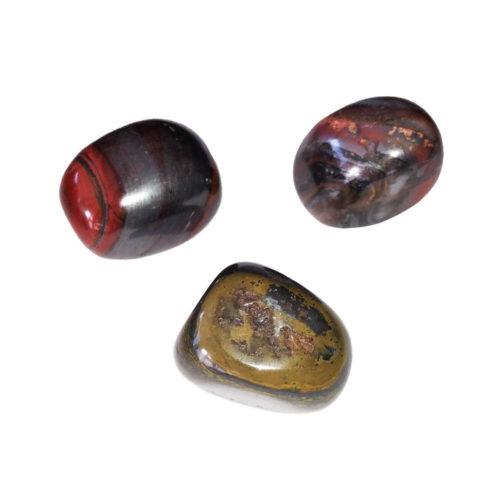 pierre roulée oeil de fer