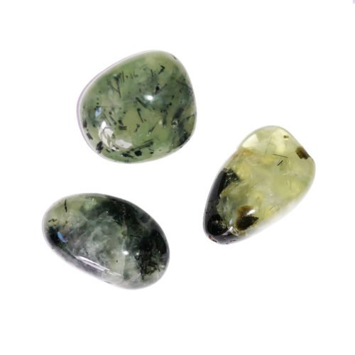 pierre roulée prehnite