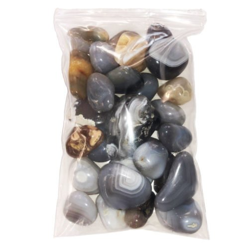 sachet pierres agate botswana