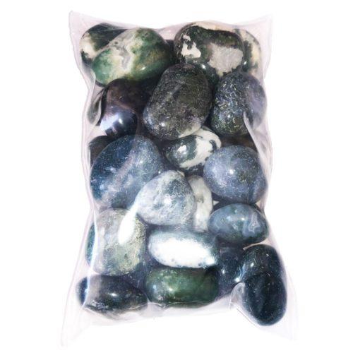 sachet pierres roulées agate mousse