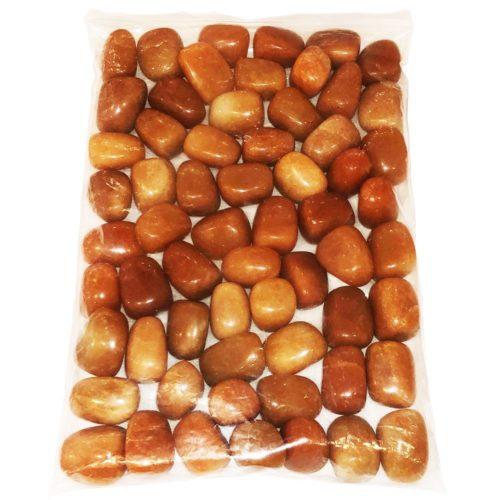 sachet pierres roulées aventurine rouge 1kg