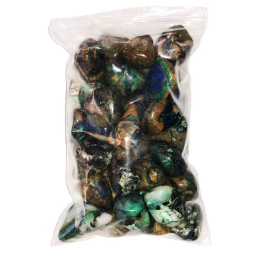 sachet pierres azurite malachite