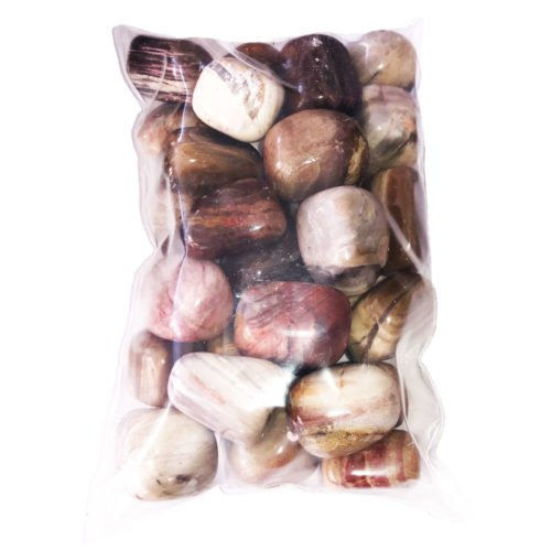 Sachet pierres bois fossilisé