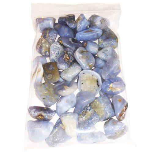 sachet pierres roulées calcédoine 1kg