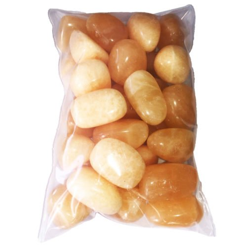 sachet pierre calcite orange