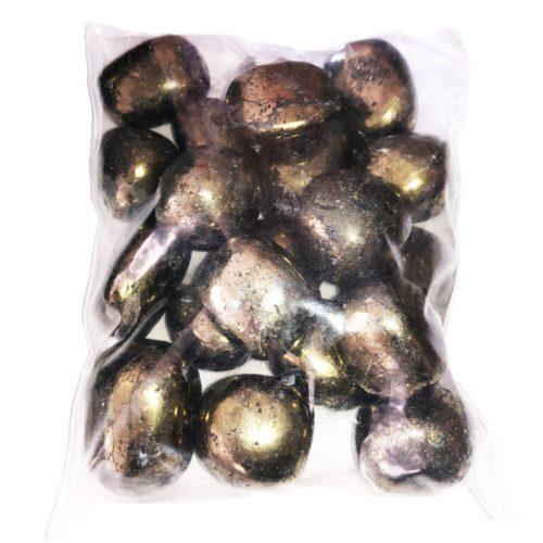 sachet pierres chalcopyrite