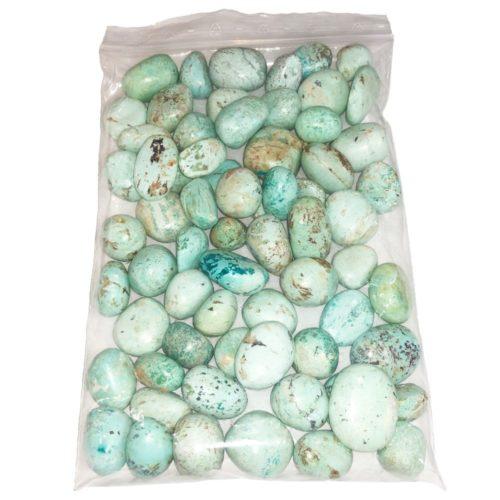 sachet pierres roulées chrysocolle 1kg